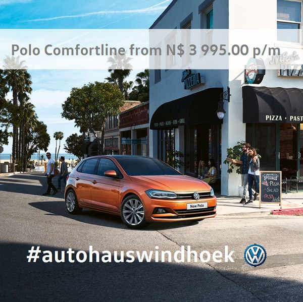 Polo Comfortline from N$ 3 995.00 per month
