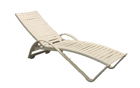Castilo sun lounger curved