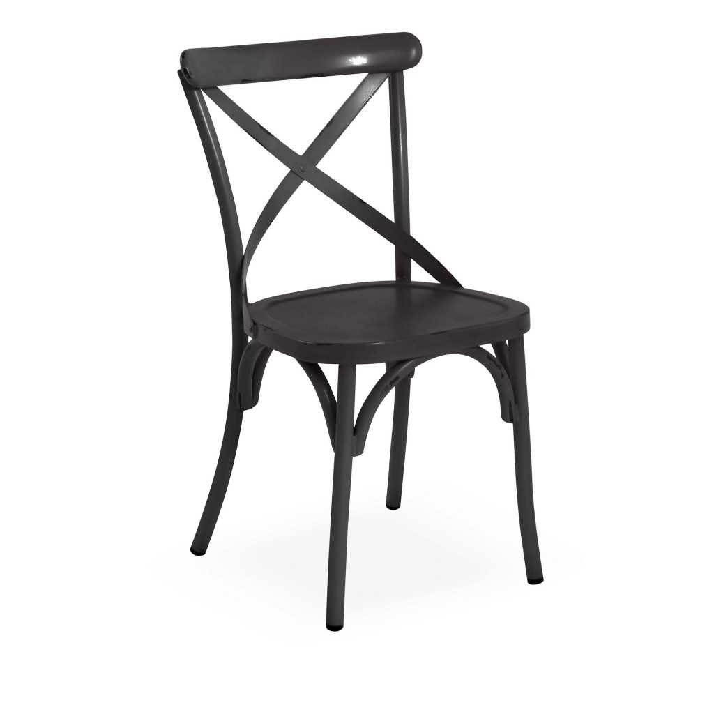 Lorry black dining side chair