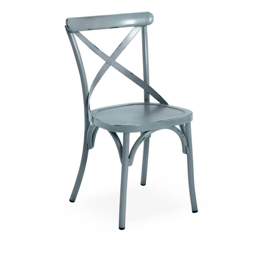 Lorry blue dining side chair