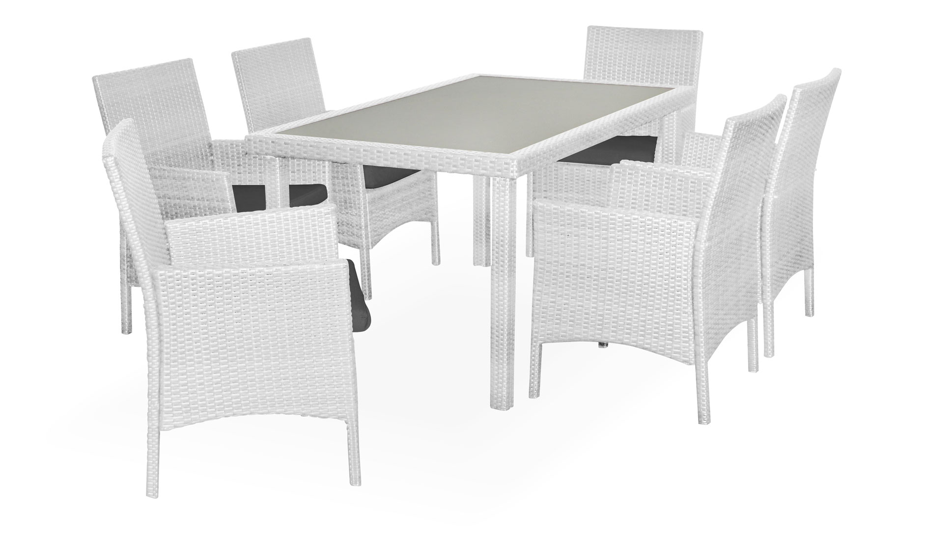Ottario Dining Set white