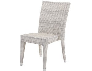 Sasha Dining side chair white