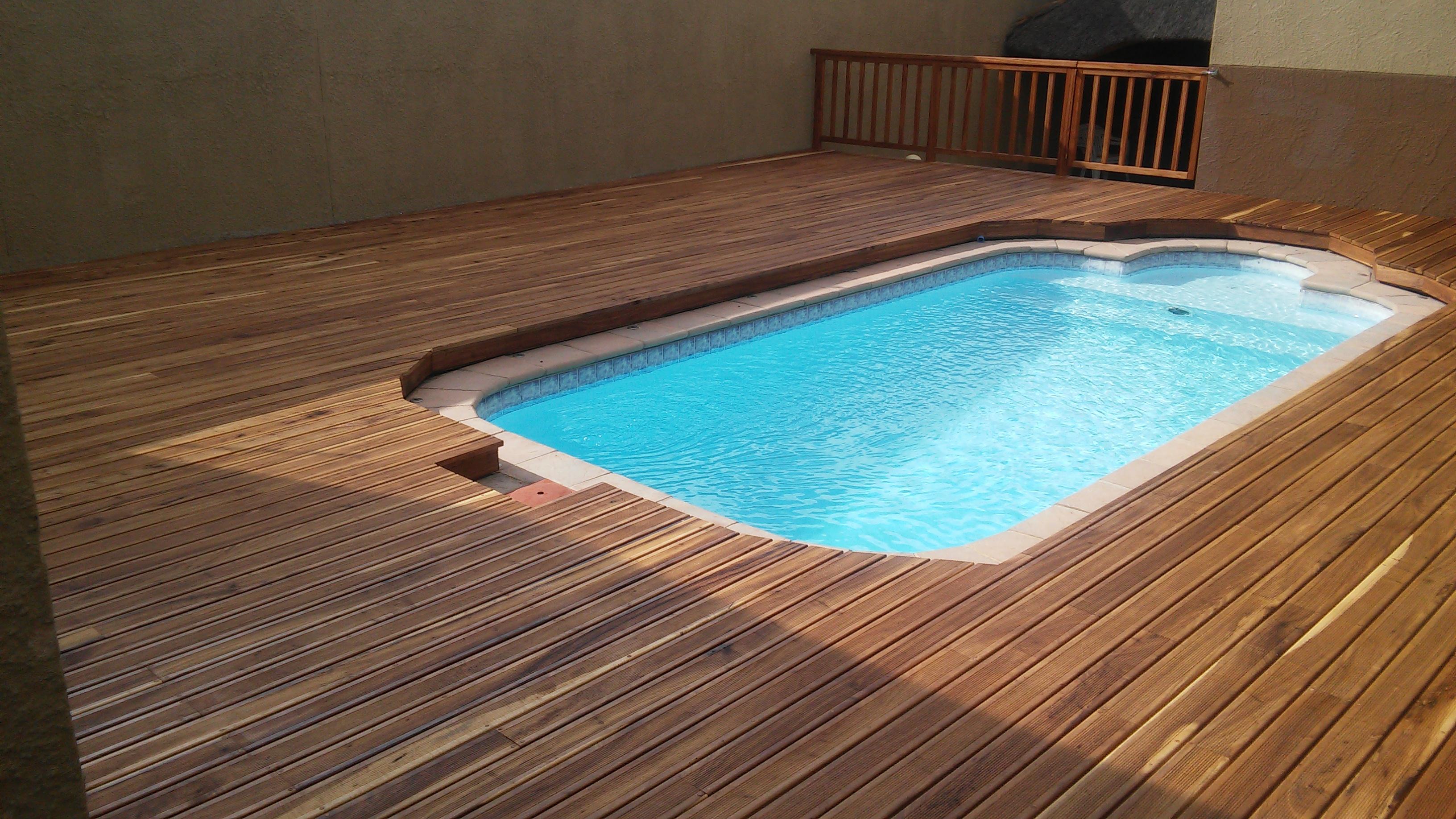 Kiaat Wooden Decks