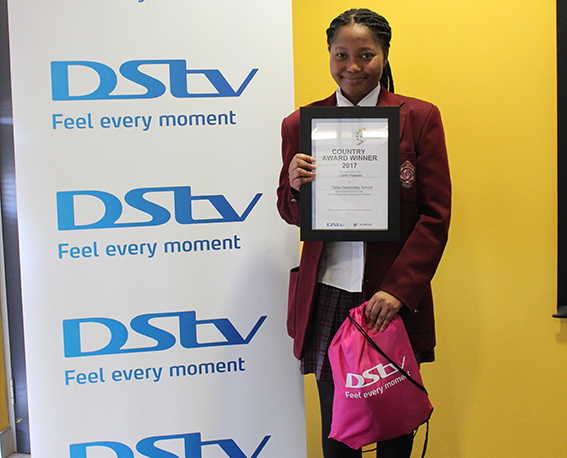 Hawala shines as the 7th edition of DStv Eutelsat Star Awards Winner for Namibia
