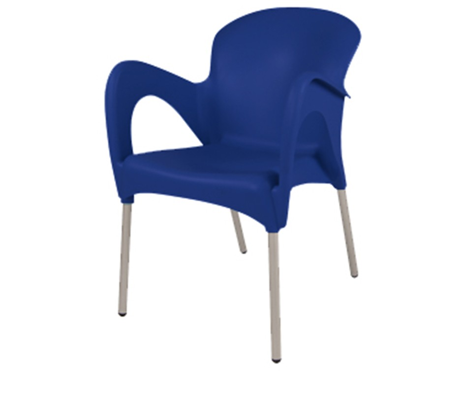 Cafe chair - Blue