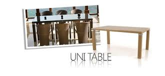 Uni Dining Tables -Germany