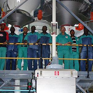 Namib Mills (PTY) Ltd - Complete Mix plant commissioned