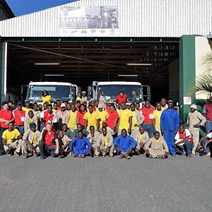 Namib Mills (PTY) Ltd - Depot setup established