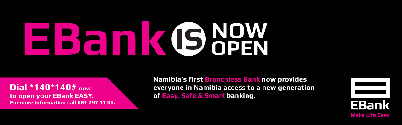 EBank is now open
