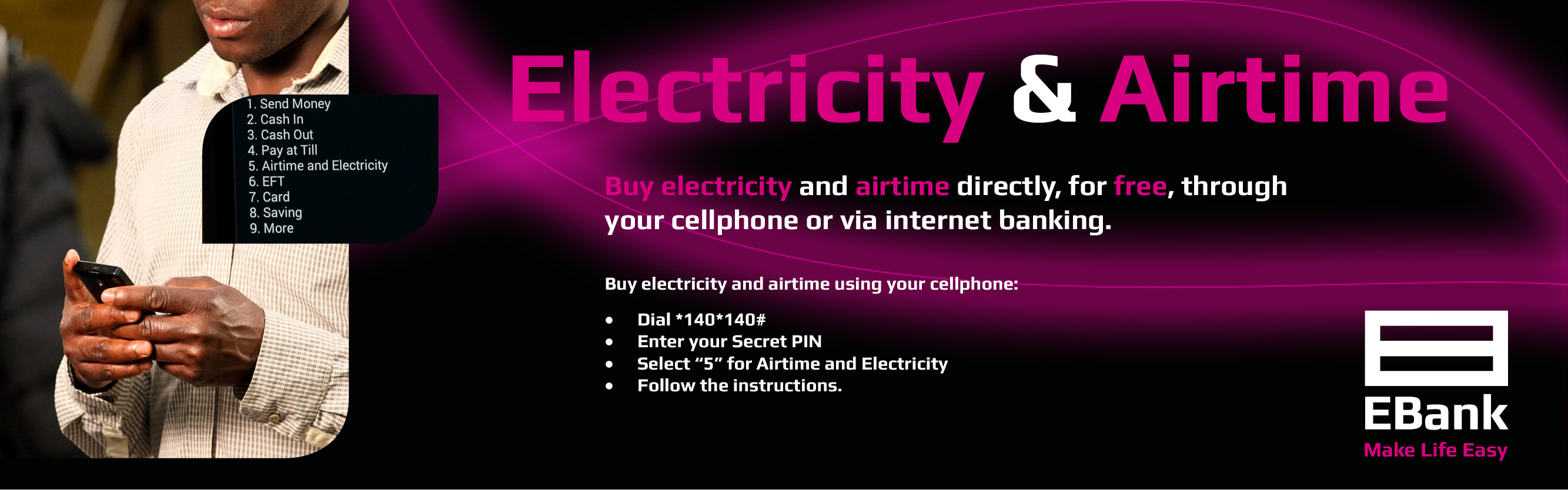 Electricity and Airtime